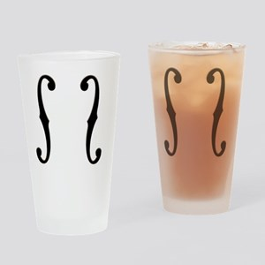 f-hole-713-CRD2 Drinking Glass