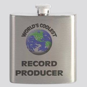 World's Coolest Record Producer Flask