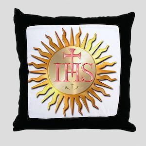 Jesuits Seal Throw Pillow