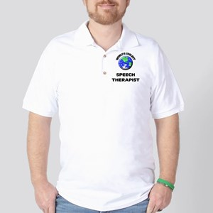 World's Coolest Speech Therapist Golf Shirt