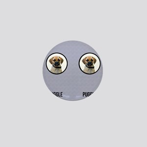 Puggle Dad Mini Button