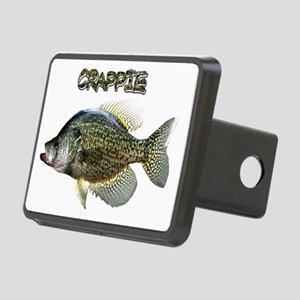 Crappie Rectangular Hitch Cover
