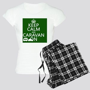 Keep Calm and Caravan On Women's Light Pajamas