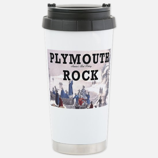 plymouthrock1 Stainless Steel Travel Mug
