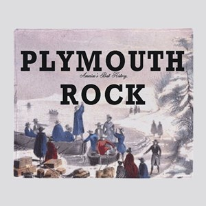 plymouthrock1 Throw Blanket