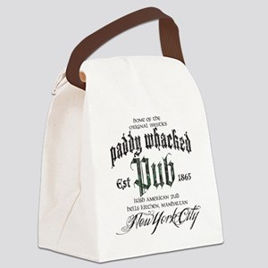 Paddy Whacked Pub Canvas Lunch Bag