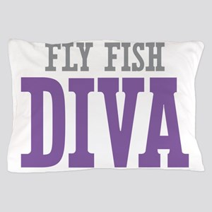 Fly Fish DIVA Pillow Case