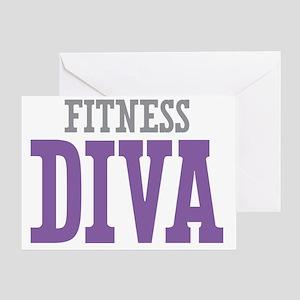 Fitness DIVA Greeting Card