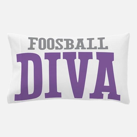 Foosball DIVA Pillow Case