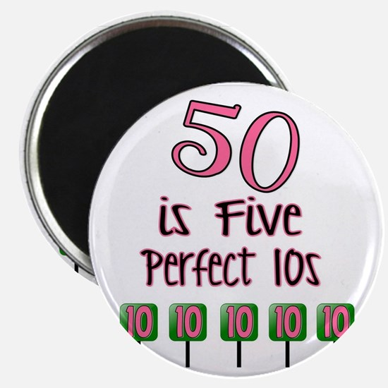 50 is Five Perfect TENS Magnet