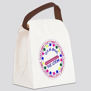 It's All About THE LOOM Canvas Lunch Bag