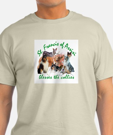 ST. FRANCIS BLESSES THE COLLIES T-Shirt