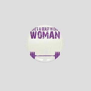 A BEAST IN EVERY WOMAN - PURPLE Mini Button