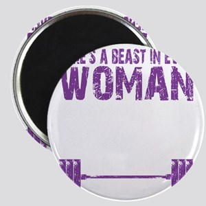 A BEAST IN EVERY WOMAN - PURPLE Magnet