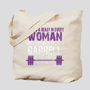 A BEAST IN EVERY WOMAN - PURPLE Tote Bag