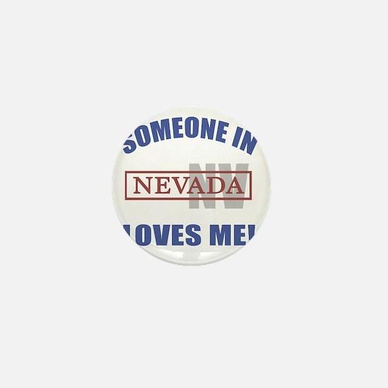 Someone In Nevada Loves Me Mini Button