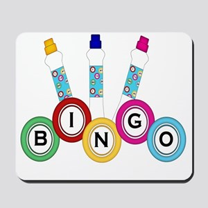 BINGO WITH MARKERS- Mousepad