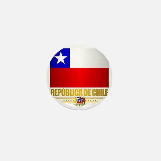 Flag of Chile Mini Button