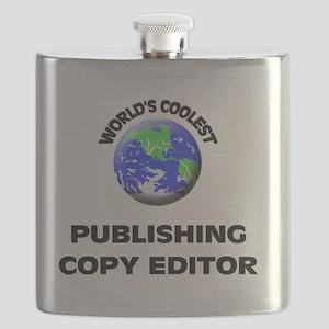 World's Coolest Publishing Copy Editor Flask