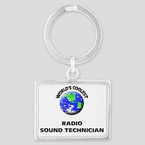 World's Coolest Radio Sound Tec Landscape Keychain