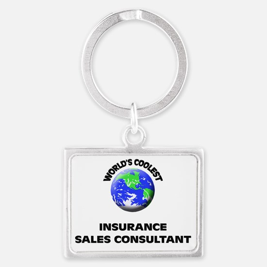 World's Coolest Insurance Sales Landscape Keychain