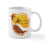 Be Casual, Be Cool dark Mugs