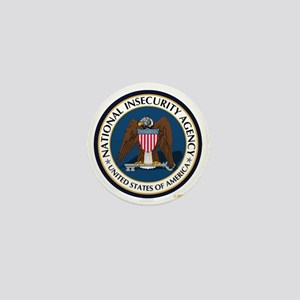 National Insecurity Agency Mini Button