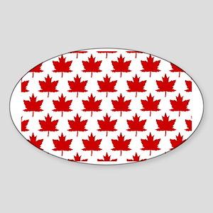 Leaves Sticker (Oval)