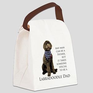 Labradoodle Dad Canvas Lunch Bag