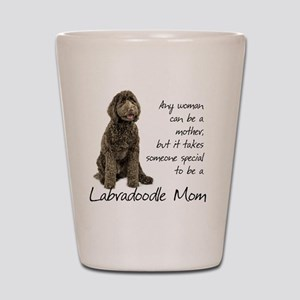 Labradoodle Mom Shot Glass
