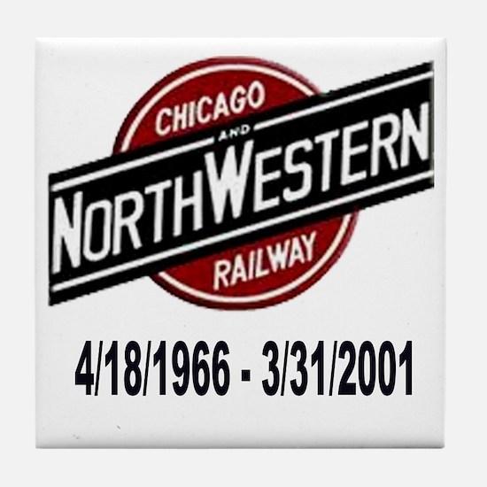 logoCNWRailway Tile Coaster