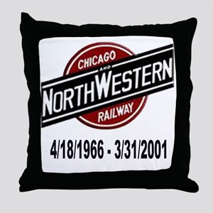 logoCNWRailway Throw Pillow