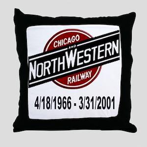 logoCNWRailway Throw Pillow