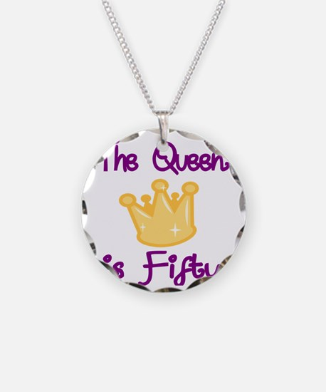 THE QUEEN IS FIFTY 4 Necklace