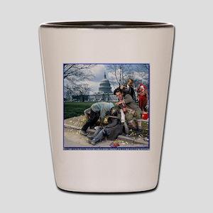 Boehner & RINO's Lapping Up Free Koolai Shot Glass