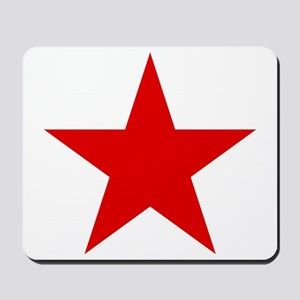 Red Star Mousepad