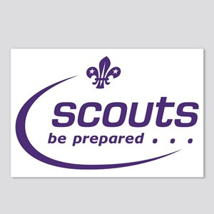 Scouts logo Postcards (Package of 8)