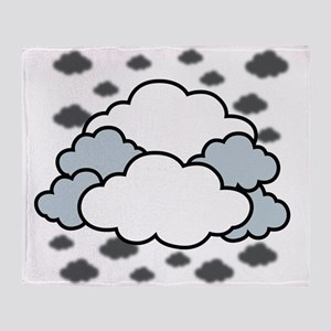 Clouds Throw Blanket