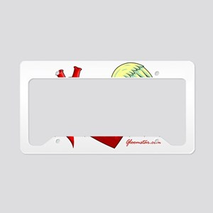 Heart Surgery Survivor License Plate Holder