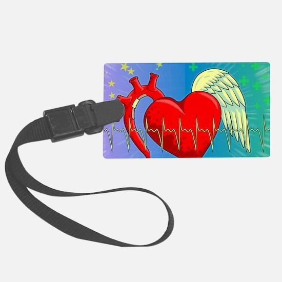 Heart Surgery Survivor Full Luggage Tag