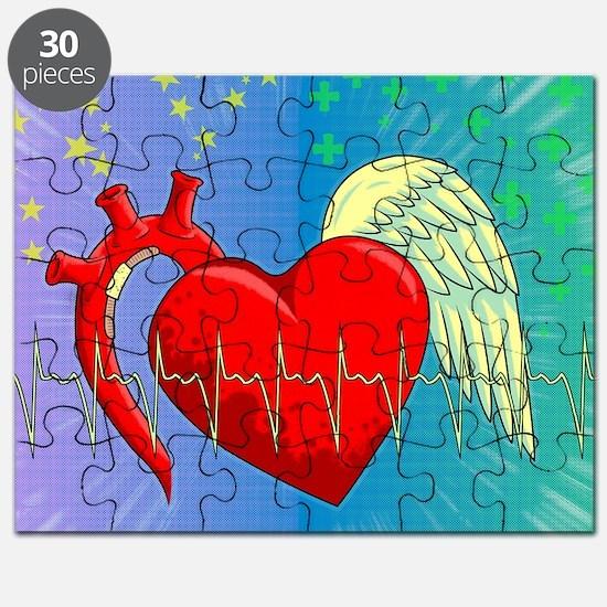 Heart Surgery Survivor Full Puzzle