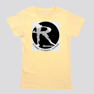 iRecover - Clean. Serene. Proud Girl's Tee