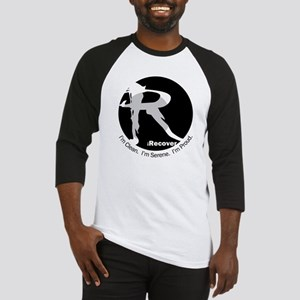 iRecover - Clean. Serene. Proud Baseball Jersey