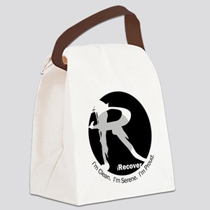 iRecover - Clean. Serene. Proud Canvas Lunch Bag