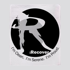 iRecover - Clean. Serene. Proud Throw Blanket
