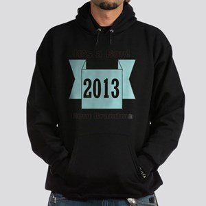 2013 New Grandma of Boy Hoodie (dark)