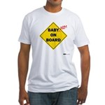 Baby Arm On Board Fitted T-Shirt