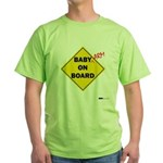 Baby Arm On Board Green T-Shirt