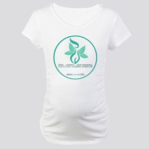 1in10 Logo Maternity T-Shirt