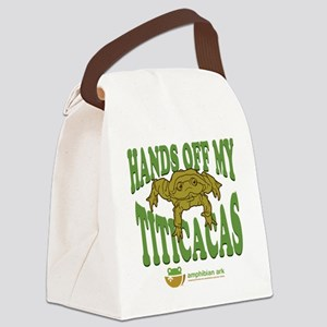 Hands off my Titicacas Canvas Lunch Bag